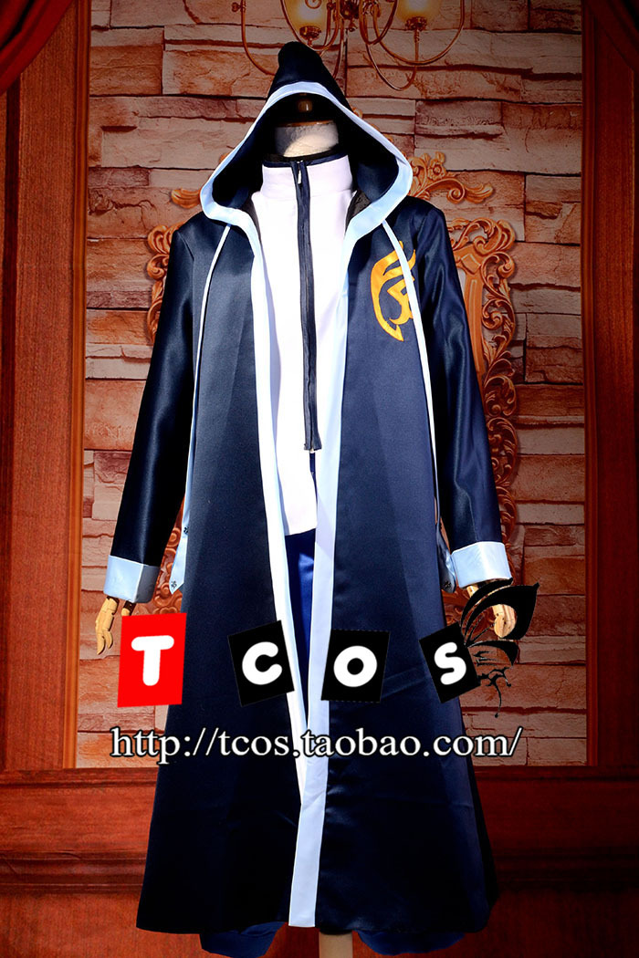Free Shipping Newest Fairy Tail Jellal Fernandes Gorgeous Uniform Cosplay Costume Perfect Custom For you