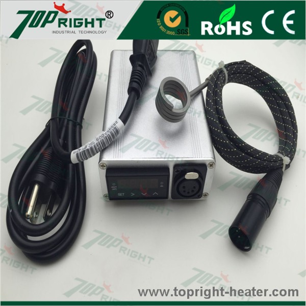 Sliver Electric Single Control Box With ID20mm 110v150w