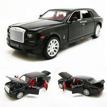 1:32 Rolls Royce Phantom ExtendedลีมูซีนDiecastโลหะของเล่นรถเด็กของขวัญคอลเลกชันจัดส่งฟรี