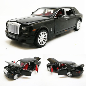 Image 1 - 1:32 Rolls Royce Phantom Extended Limousine Alloy Diecast Toy Metal Vehicle Car Model Kids Gift Collection Free Shipping
