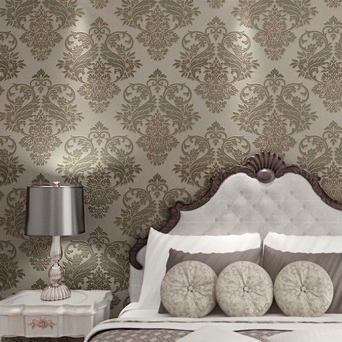beibehang  Victorian Damask wallpaper scroll background wall wallpaper pvc roll wall papers home decor for living room & bedroom 2015 new brand 5m roll victorian country style for floral flowers background wallpaper
