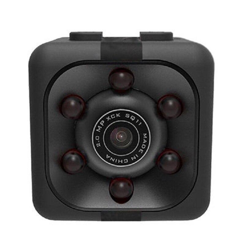 Camera Mini 1080P Sq11 Pro Black Hd Night-Visual-Motion Plastic Digital
