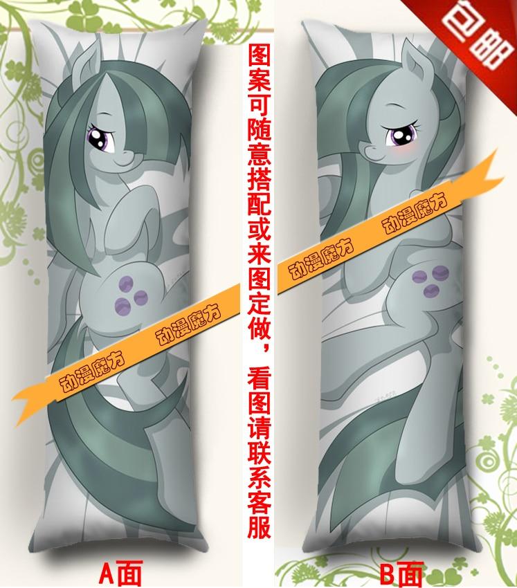 Livraison gratuite Anime Dakimakura taie d'oreiller calin mon petit poney marbre Pie