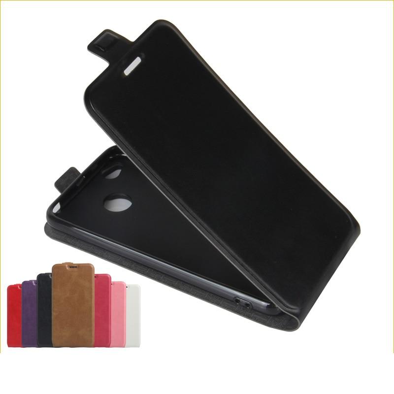 Para Xiaomi Redmi 4X Funda de cuero PU Funda para Xiaomi Redmi 4X Teléfono Pu Skin Vertical Flip Phone Case
