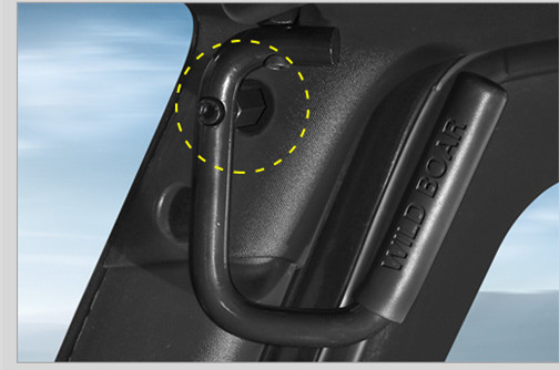 Black Front & Rear Grab Bar Grab Handle Kit For Jeep Wrangler JK 2DR/4DR Sahara Sport Rubicon X & Unlimited 4 door Grab Handle