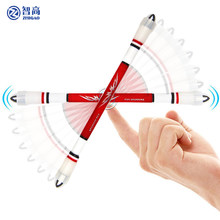 Zhigao não deslizamento caneta girando caneta jogo para crianças estudantes multi função dedo jogando canetas artigos de papelaria material escolar