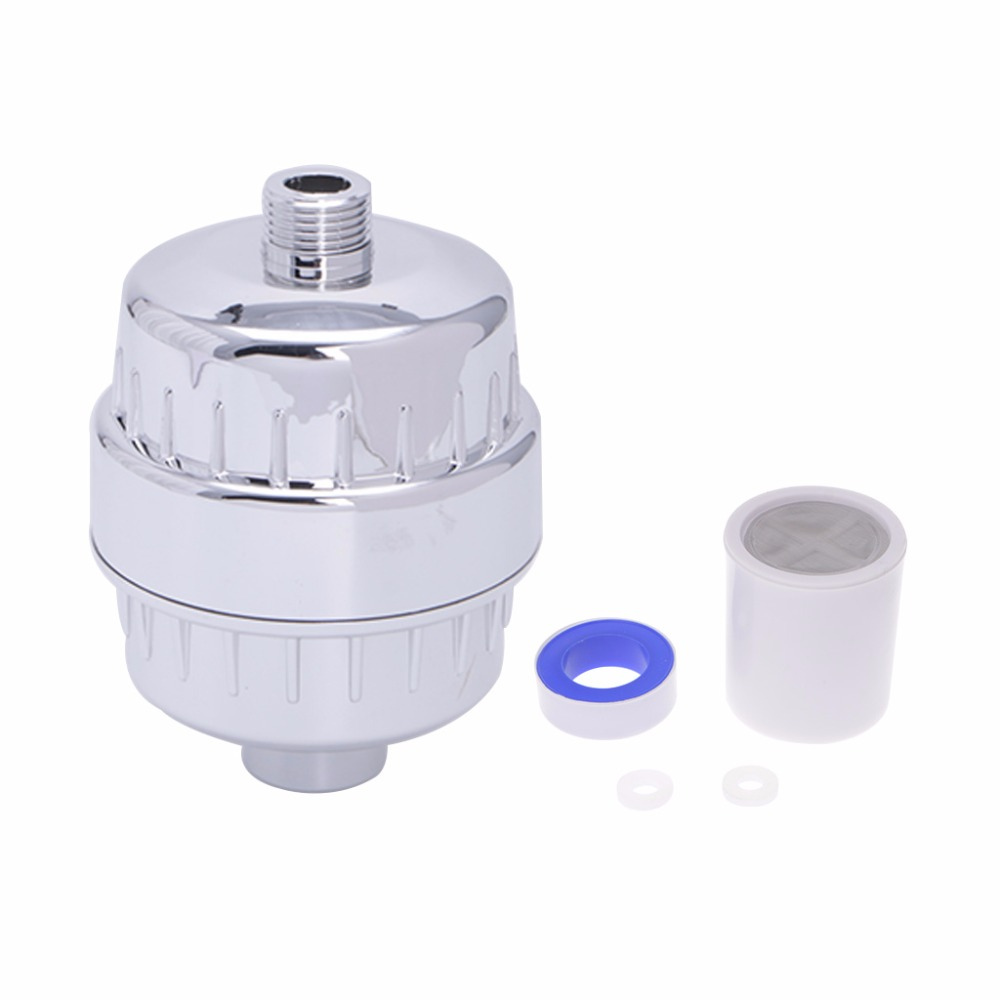 Shower Bath Calcium Sulphite Softener Chlorine Removal Purifier Water Filter
