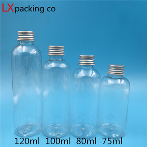 Image 5 - 50 개 무료 배송 5 10 25 30 60 100 150 ML 빈 투명 플라스틱 포장 병 화장품 용기 소매 도매