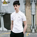 Viishow Summer Polo Men Shirt Fashion Brand Clothing White Pullover Men Turn-Down Collor Polo Men's Clothing  PD65562