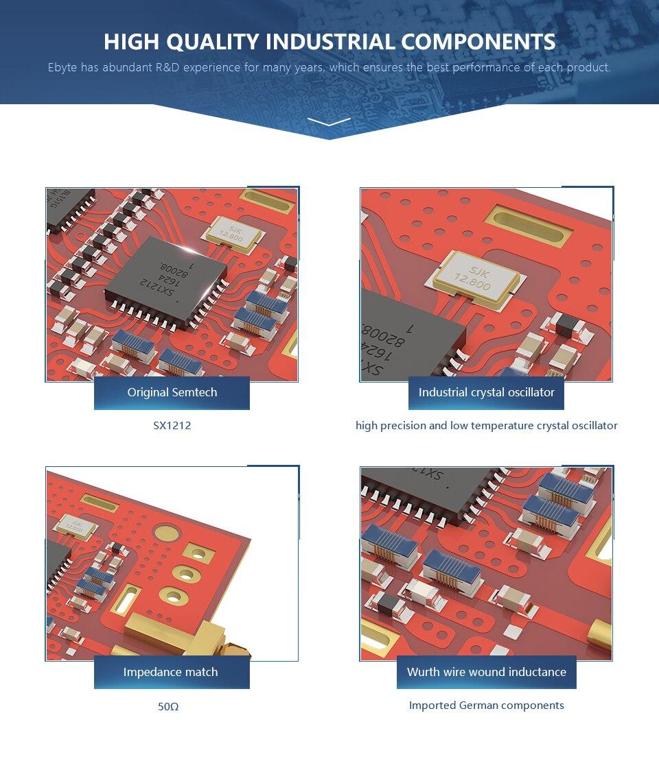 E33-433T13D 433MHz RF Transceiver