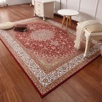 Persian printed Vintage carpets area rugs YOOSA tea table bedroom living room parlor rectangular modern simple carpet rug mats