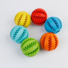 Rubber Toys Leaking Balls Large Pet Dogs Molar Biting Non-toxic Mint Products