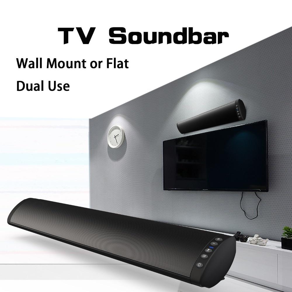 20 W Bluetooth Speaker Soundbar Stereo Draagbare Kolom Draadloze Sound Bar Met Tf Card 3.5mm Jack Usb Rca Voor Mobiele Telefoon