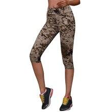 2bea98f2a593b 2018 Camo Print Stretched Camouflage Leggings Women Military Camouflage  Pants Fitness High Waist Elastic Leggings Leggins