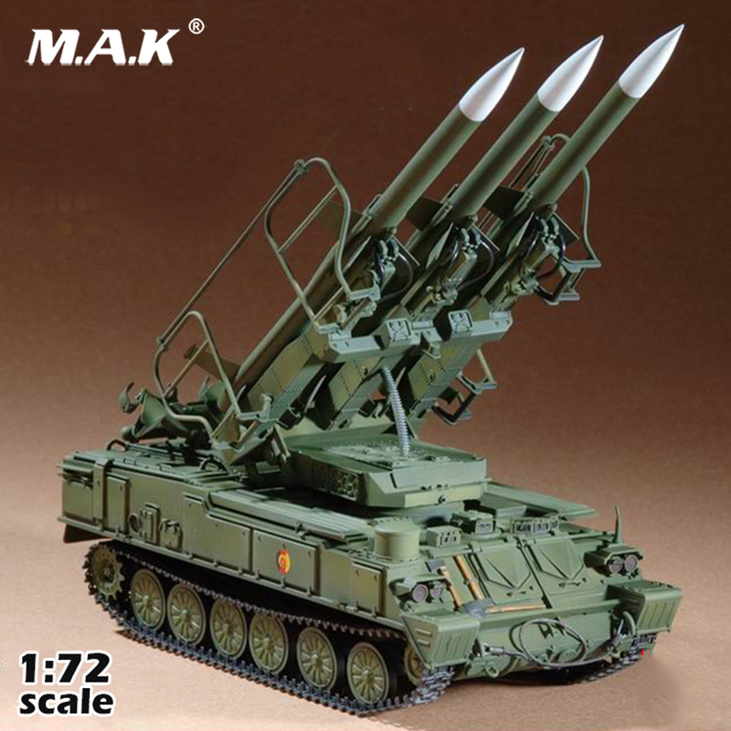 Kids Toys For Collectible 3G Model Trumpeter Assembly Model 07109 1/72 Russian Sam-6 Air Defense Missiler Tank Model Toy Gift