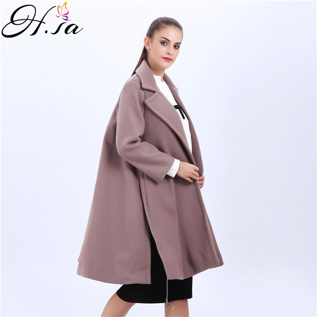 Manteau long femme hiver h&m