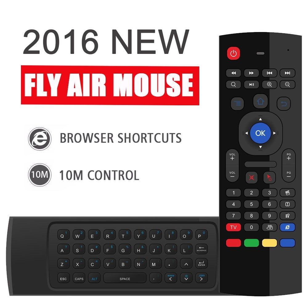 Actory prezzo Diretto MX3 2.4 GHz 6 in 1 funzione Wireless tastiera completa Fly Air Mouse Remoto Per Android Smart TV BOX