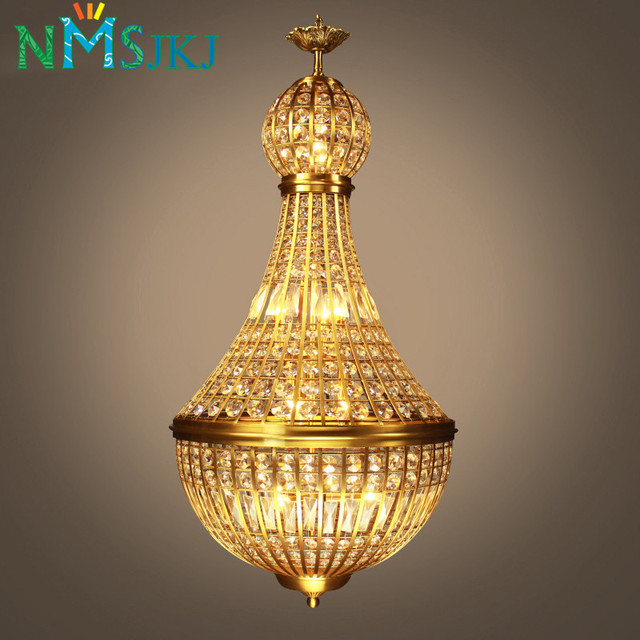 American Country LED Crystal Pendant Lights Individual Design For - Individual pendant lights