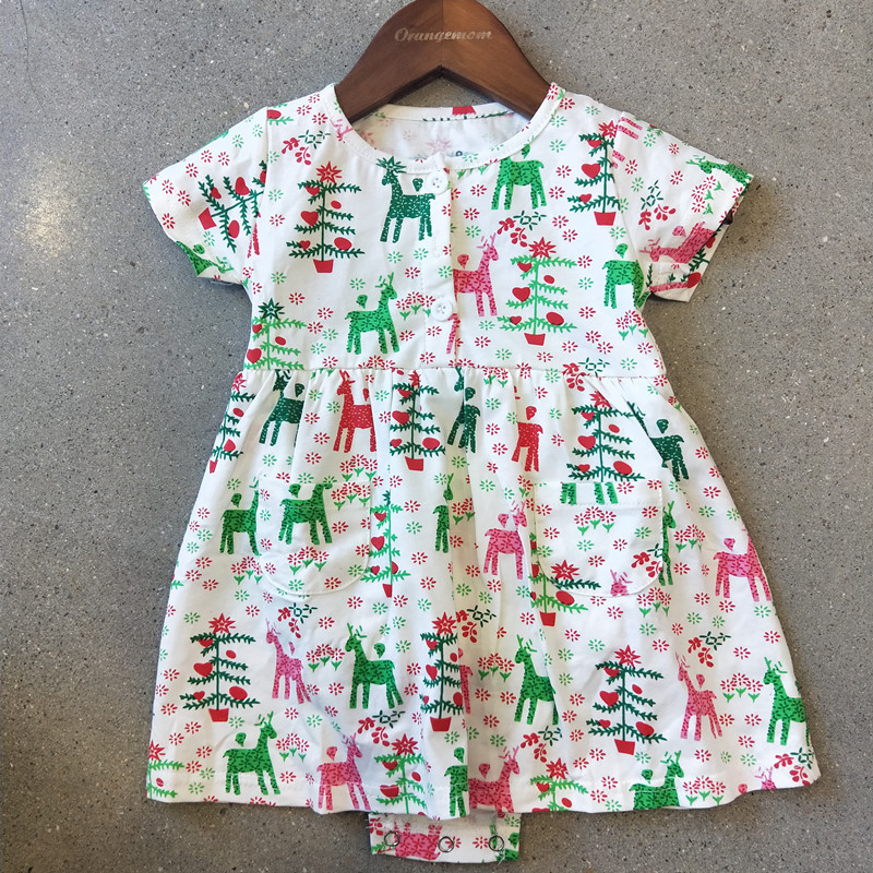 a6b9eb381d617 2019 summer clothes for girls pink baby clothing nice green baby dress 0  24M cotton infant newborn clothes roupa infantil XHQ-in Dresses from Mother  & Kids ...
