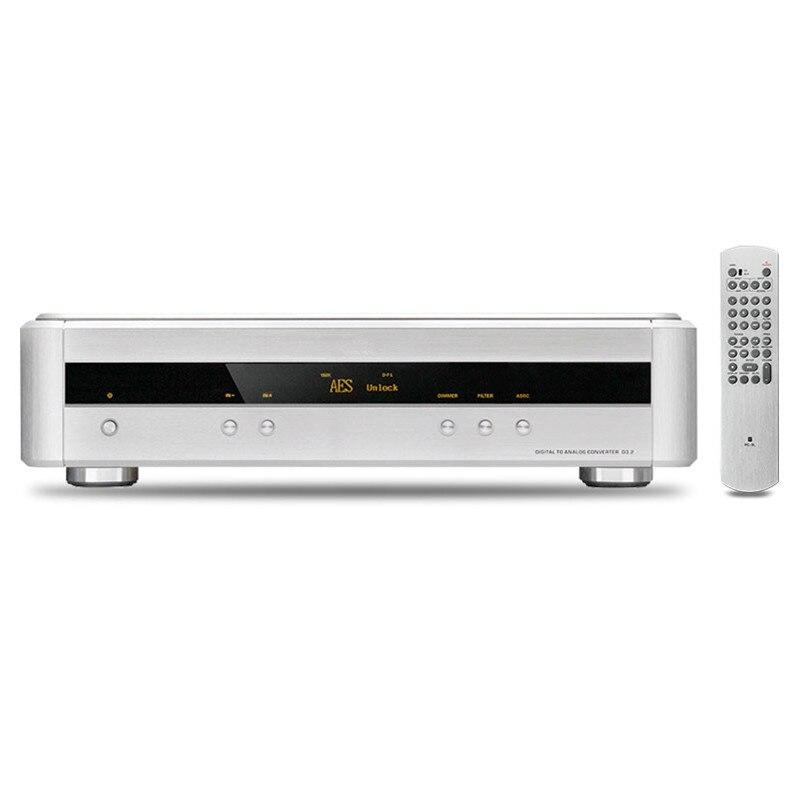 R-048 Shanling D3.2 D/A Converter iPod USB2.0 DSD DAC PC HiFi ESS9018 24bit/384KHz DSD1bit/2.8/5.6MHz XLR Output 110V/220V musiland monitor monitor 04 mx tf card player 32bit 384khz usb dac pc hifi dsd digital stream output usb2 0 3 5mm 6 25mm output