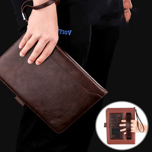Luxury Leather Case For ipad Mini 1 2 3 Retro Briefcase Hand Belt Holder Cover 4 Smart Stand Flip Bags