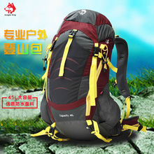 Jungle King 2017 berkualiti tinggi perkhemahan luar gunung beg bahu kalis air sukan ransel 45L tas beg grosir