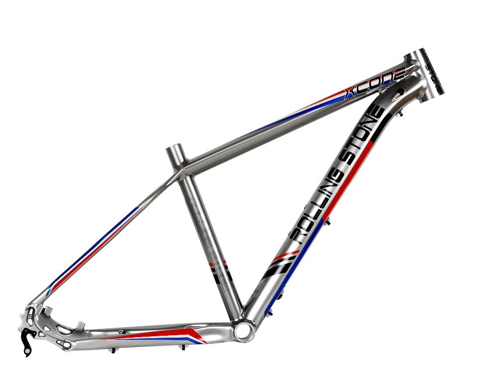 New Rolling Stone XC ONE 27.5 MTB Frame 16 17 inches Silver blue disc brake коммутатор huawei s2750 28tp pwr ei ac