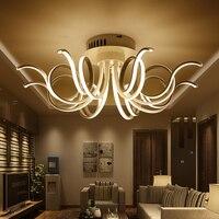 led Ceiling lights led kitchen lamps for living room bedroom lamp las luces del techo Aluminum LED Ceiling Light fixtures light