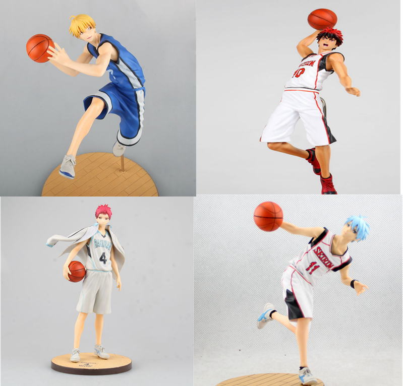 Kuroko no Basket Modello Seirin Basket Club Aomine Daiki Kuroko Tetsuya Figura Zona TROPPO GAKUEN MH GEM 18 CM Action PVC figura