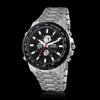 OTS Fashion Luxury Brand Men Waterproof Military Sports Watches Men S Quartz Digital Metal Strap Wrist