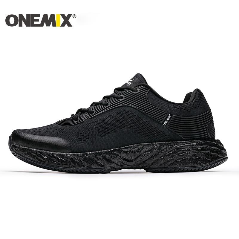 ONEMIX Men Running Shoes Marathon Man Sneakers Women Rebound 58 Energy Breathable Mesh Sneaker Outdoor Athletic
