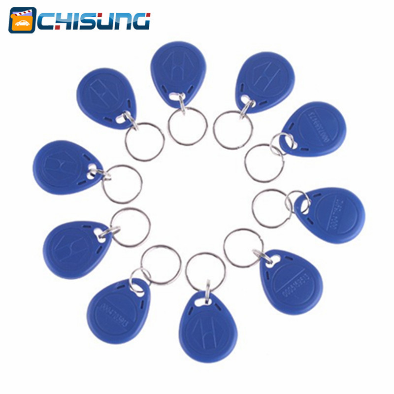 100pcs 125Khz RFID Proximity Keyfobs Ring Access Control Card RFID ID Tag Door Entry Access Control key 100pcs lot rfid id tag door entry access control em key chain token 125khz proximity keyfobs free shipping