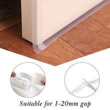 Многофункциональная самоклеящаяся клейкая прокладка для окон, дверей, пыли, насекомых, уплотнительная прокладка, звукоизоляция, уплотнитель, ширина 35 мм, Прямая поставка
