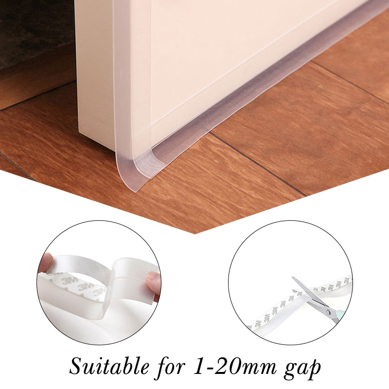 Multi-function Self Adhesive Glue Door Window Draught Dust Insect Seal Strip Soundproofing Weatherstrip 35 Mm Width Dropshipping
