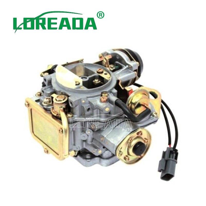 Loreada engine carb carburetter CARBURETOR ASSY 16010-21G61 For NISSAN Z24 Engine 1983 1984 1985 1986 16010-21G61 carburetor carb for nissan a12 cherry pulsar vanette truck datsun sunny b210 pulsar truck 16010 h1602 16010h1602 16010 h1602