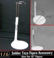 1:6 ZY-oyuncaklar Özel Şekil Ekran Standı _ U Beyaz _ Bel Desteği için Şimdi CS001Z Standı 12