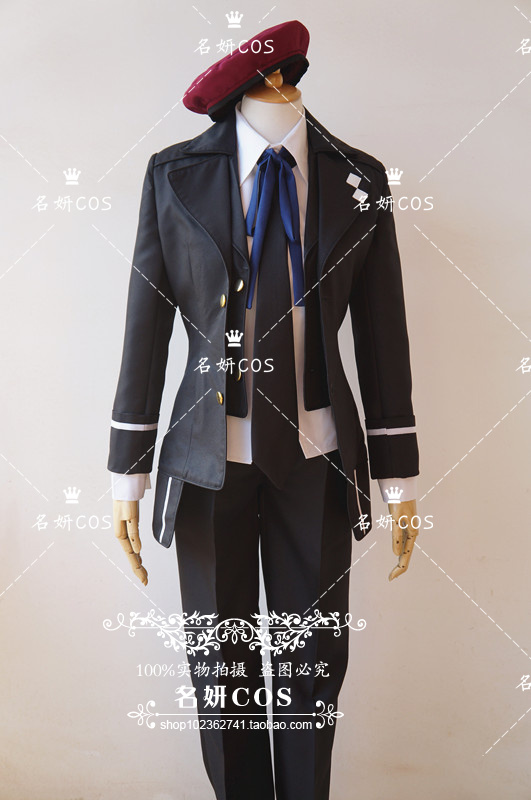 DIABOLIK LOVERS Mukami Azusa cosplay costume unisex customize for any size