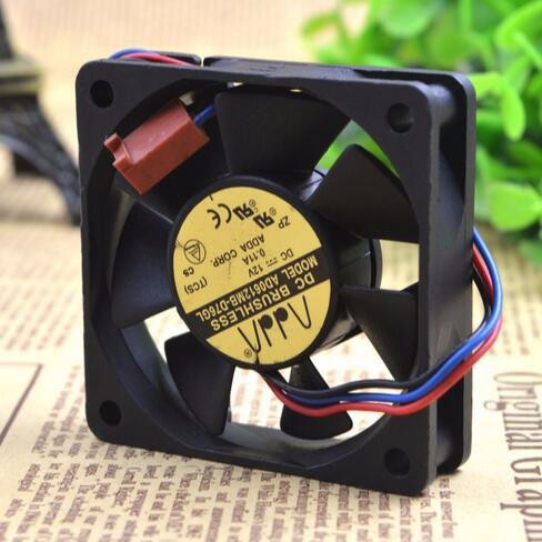 Wholesale: ADDA 60*60*15 6CM 12V 0.11A AD0612MB-D76GL 3 wire CPU power dissipation fan