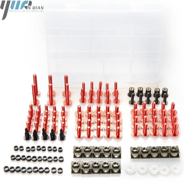 Für Honda CBR600 1991 1998 CBR650F/CB650F 2014 2015 2016 Universal Motorrad Teile Verkleidung Schrauben Muttern Verschluss Clips schrauben