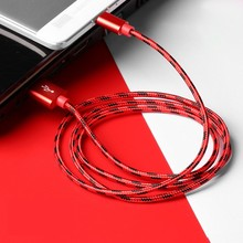 For iPhone 6 7 8 X Charging cable 1M 2M USB Fast charging Micro USB&USB Type-C 3A Quick Charger for Samsung Xiaomi Huawei