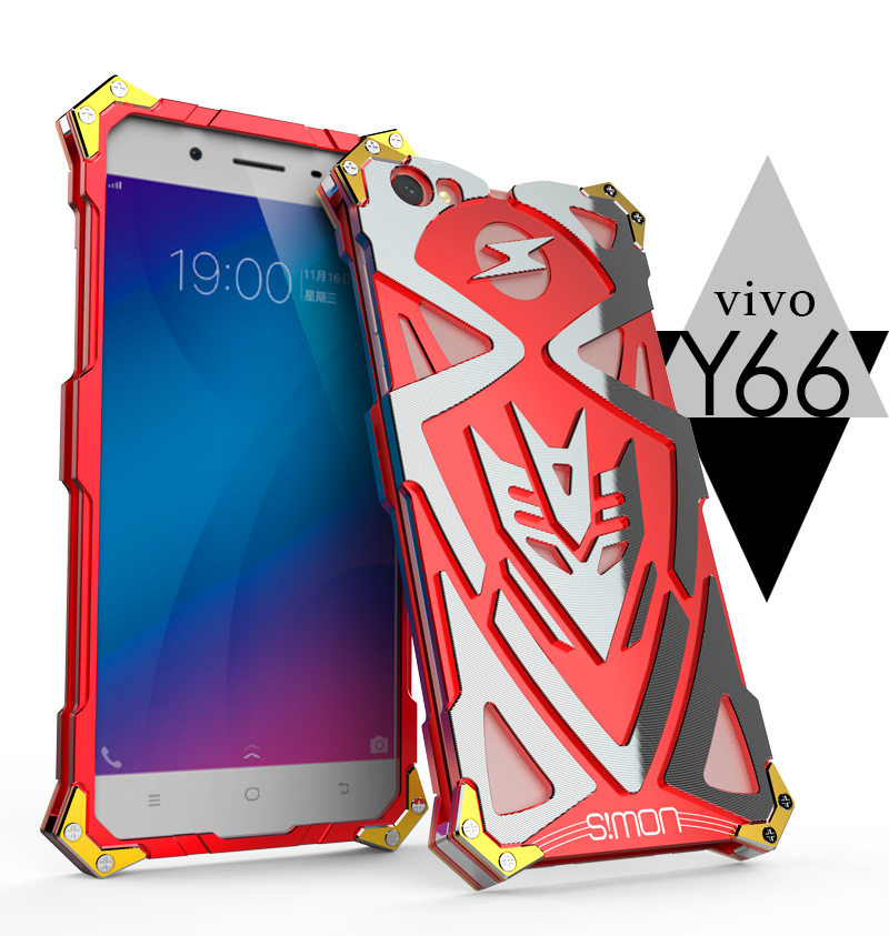 Buy Aluminum Armor Thor Case For VIVO Y66 Y67 Case Cover The Flash Iron Man Phone Cases Covers Protective Shell Skin Bag for only 19.97 USD