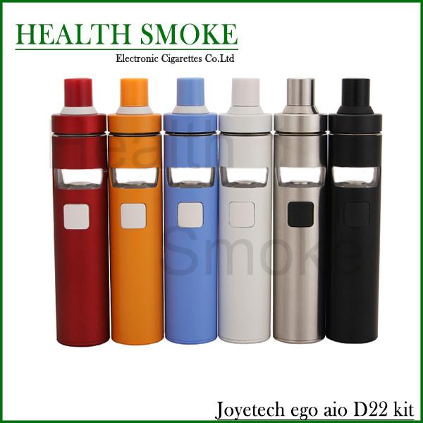 Original Cigarrillo Electrónico Joyetech eGo D16 AIO AIO D22 Todo-en-Un Kit de Inicio eGo con 2 ml Tanque atomizador y Batería Vape