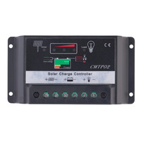 New Arrivals 5A 10A 12V/24V Solar Charge Controller Auto Regulator Solar Panels New Top Hot