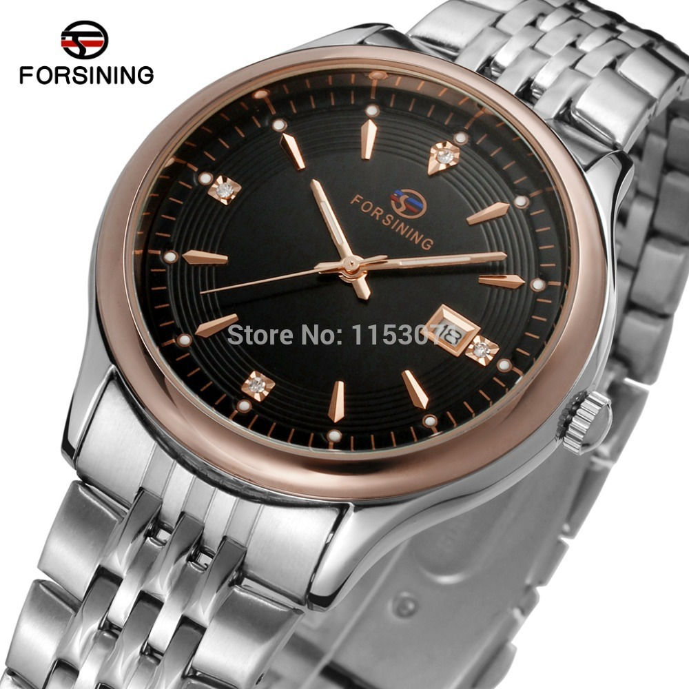 FSG8088Q4T4 new arrival quartz stainless steel bracelet classic men black color watch with original gift box free shipping