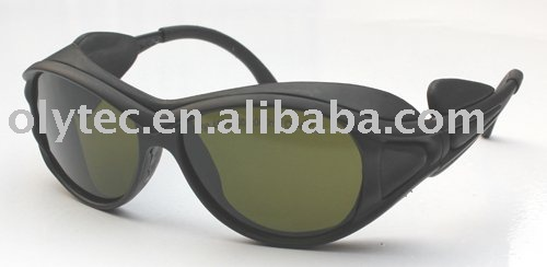 laser safety glasses 190-450nm & 800-2000nm O.D 4 + CE High VLT% laser head kss 151a