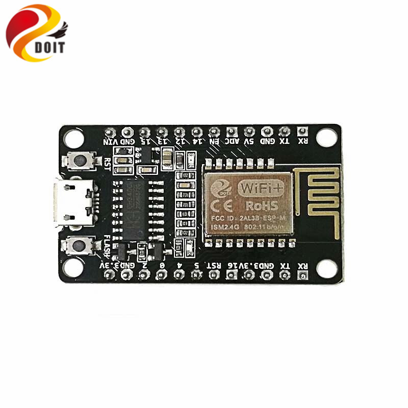 DOIT NodeMCU-M Development Board based on ESP-M2 from ESP8285 Serial WiFi Wireless Module Compatible with Nodemcu DIY LuA iOT brand new wifi internet of things development board esp 12e module for nodemcu lua free shipping