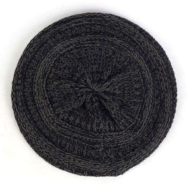 Geebro Coarse Wool Knit...