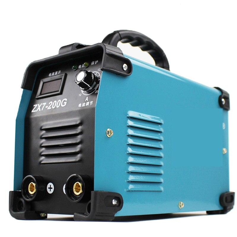 Stick ARC DC IGBT Welding MACHINE Electrorod Earth Clamp, MMA ARC 200 220v Welder Inverter Welding Machines Duty cycle 100%