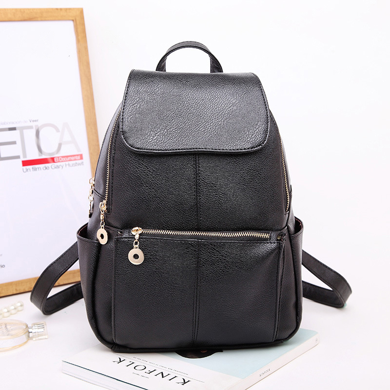 New Japan and Korean Style Women s Bag Fashion PU Leather Shoulder Bag Cross Crimp Simple