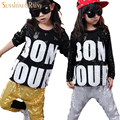 2016 Kids Hip Hop Clothing Autumn Round Collar Camouflage Cool Trucksuits Cotton Children Set For Boy Gilrs Hip Hop Clothing